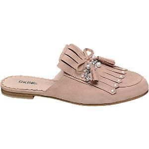Růžové pantofle Graceland