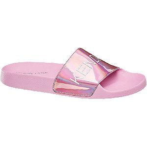 Růžové pantofle Kendall + Kylie