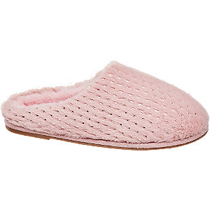Růžové papuče Vero Moda