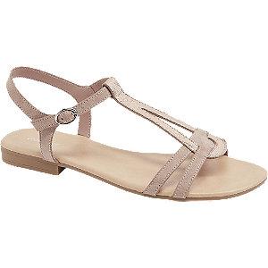 Růžové sandály Graceland