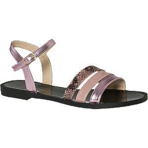 Růžovo-fialové sandály Catwalk