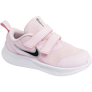 Ružové detské tenisky na suchý zips Nike Star Runner 3