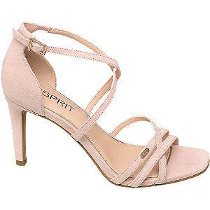 Ružové sandále na podpätku Esprit