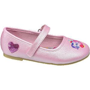 Rózsaszín csillámos balerina
