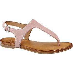 Rózsaszín lábujjközi saru