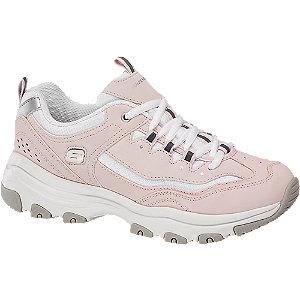 Rózsaszín női sneaker Memory Foammal
