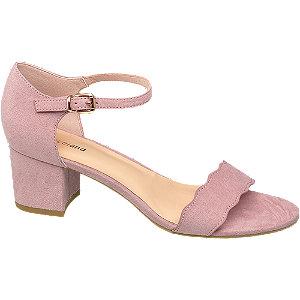 Rózsaszín női szandál