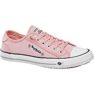 Rózsaszín vászoncipő