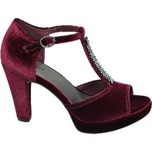 Sametové sandály