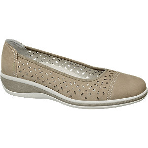 Sapato conforto pele
