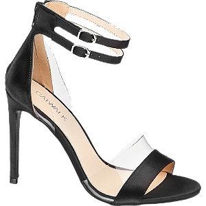 Saténové sandály