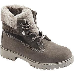 Sivá kožená šnurovacia obuv Landrover