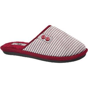 Sivo-bordové papuče Casa mia