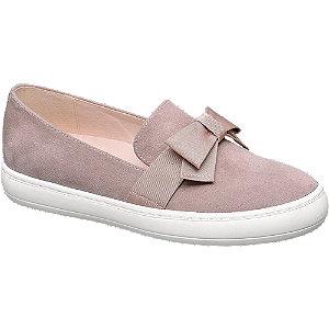Slip-on obuv s mašlí