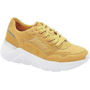 Sárga női sneaker