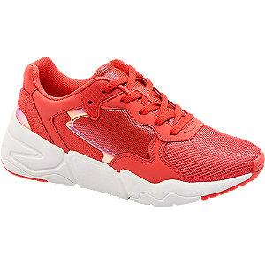 Chunky Sneaker in Rot