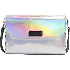 Stříbrná kabelka Kendall + Kylie