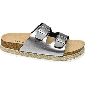 Stříbrné pantofle Graceland