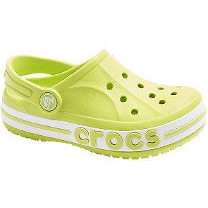 Svetlozelené plážové sandále Crocs