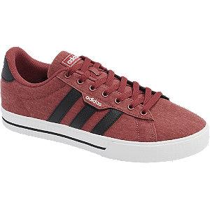 Tehlovočervené tenisky Adidas Daily 3.0
