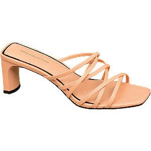 Tělové pantofle na podpatku Rita Ora