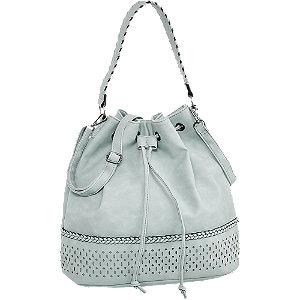 Világoskék női táska