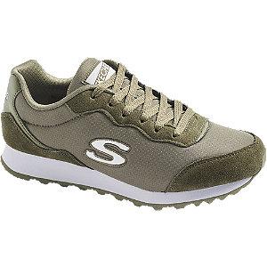 Zelené tenisky Skechers