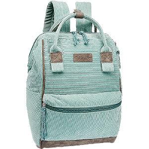 Zöld női hátizsák