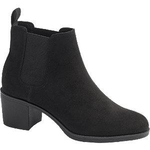 czarne botki damskie Graceland
