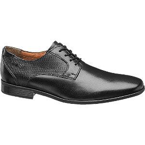 eleganckie buty męskie AM SHOE w kolorze czarnym