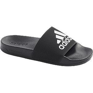 Černé pantofle adidas