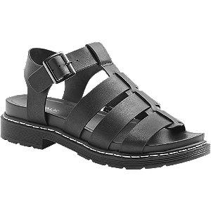 Černé sandály Catwalk