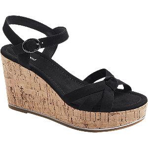 Černé sandály Graceland