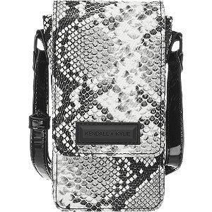 Černo-bílá kabelka přes rameno Kendall + Kylie se zvířecím vzorem