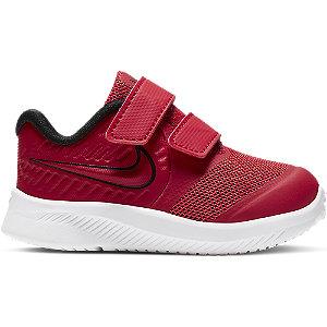 Červené detské tenisky na suchý zips Nike Star Runner 2