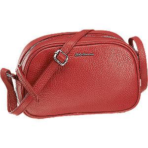 Červená kožená kabelka 5th Avenue