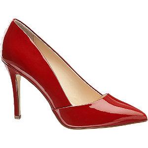 Červené lakované lodičky Graceland