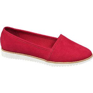 Červená slip-on obuv Graceland