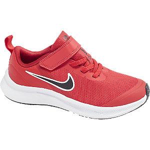 Červené tenisky na suchý zips Nike Star Runner 3