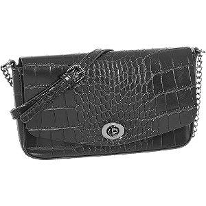 Čierna kabelka so zvieracím vzorom Graceland