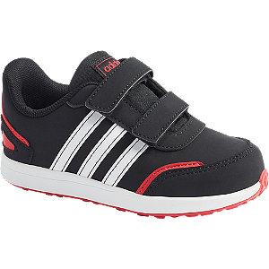 Čierne detské tenisky na suchý zips Adidas Vs Switch 3 I