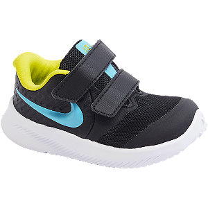 Čierne detské tenisky na suchý zips Nike Star Runner 2