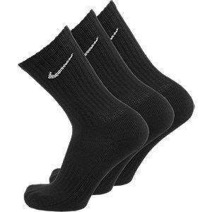Čierne športové ponožky Nike – 3 páry
