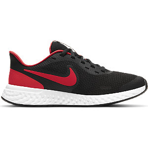 Čierno-červené tenisky Nike Revolution 5 Gs