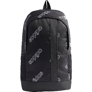 Čierny batoh Adidas Lin Bp Cf