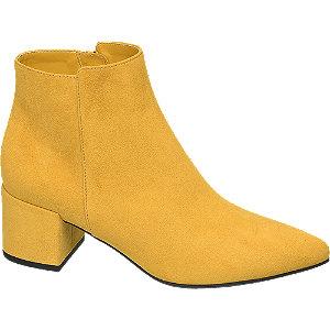 Žlté členkové čižmy Graceland