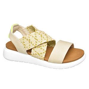 Žlto-béžové sandále Graceland