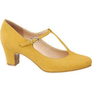 Žluté lodičky s řemínkem Graceland