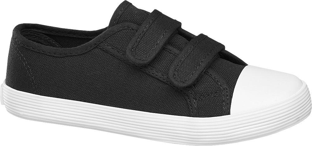 Deichmann - Victory Plátěná obuv 33 černá