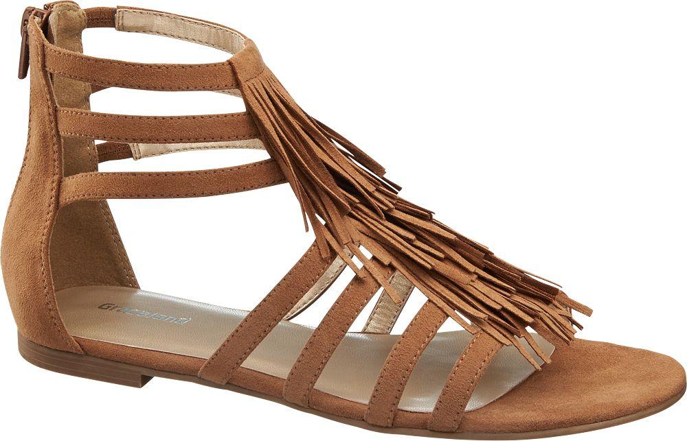 Kahverengi Sandalet Graceland
